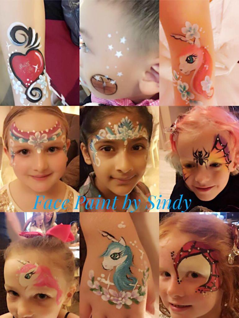 Sindy Face painting: birthday parties hong kong childrens shows magic juggling functions birthdays party hong kong 生日會派對、小丑、扭汽球、雜耍雜技, 舞蹈  遊戲, 小丑扭汽球、雜耍雜技