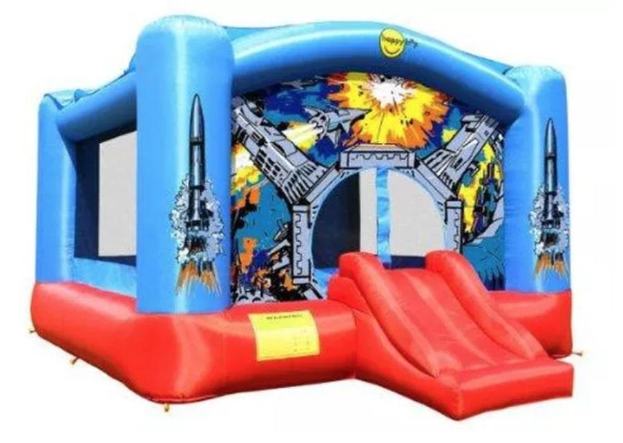 Space invaders Bouncer: birthday parties hong kong childrens shows magic juggling functions birthdays party hong kong 生日會派對、小丑、扭汽球、雜耍雜技, 舞蹈  遊戲, 小丑扭汽球、雜耍雜技