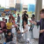 Joker: birthday parties hong kong childrens shows magic juggling functions birthdays party hong kong 生日會派對、小丑、扭汽球、雜耍雜技, 舞蹈  遊戲, 小丑扭汽球、雜耍雜技