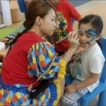 Genie Face Painting And Balloons: birthday parties hong kong childrens shows magic juggling functions birthdays party hong kong 生日會派對、小丑、扭汽球、­雜耍雜技, 舞蹈  遊戲, 小丑扭汽球、雜耍雜技