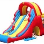 Mega Slide Combo Bouncy Castle: birthday parties hong kong childrens shows magic juggling functions birthdays party hong kong 生日會派對、小丑、扭汽球、雜耍雜技, 舞蹈  遊戲, 小丑扭汽球、雜耍雜技