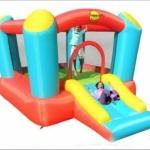 Airflow Bouncer With Slide: birthday parties hong kong childrens shows magic juggling functions birthdays party hong kong 生日會派對、小丑、扭汽球、雜耍雜技, 舞蹈  遊戲, 小丑扭汽球、雜耍雜技