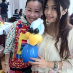 Cory Face painting and balloons: birthday parties hong kong childrens shows magic juggling functions birthdays party hong kong 生日會派對、小丑、扭汽球、雜耍雜技, 舞蹈  遊戲, 小丑扭汽球、雜耍雜技